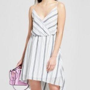 A New Day Striped Sleeveless Wrap Dress XXL